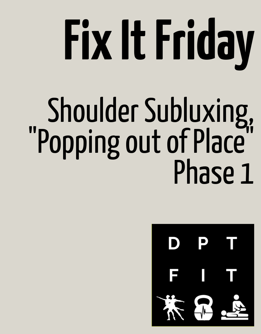 "<span class=""entry-title-primary"">Shoulder Instability Prehab/Rehab</span> <span class=""entry-subtitle"">Fix It Friday</span>"