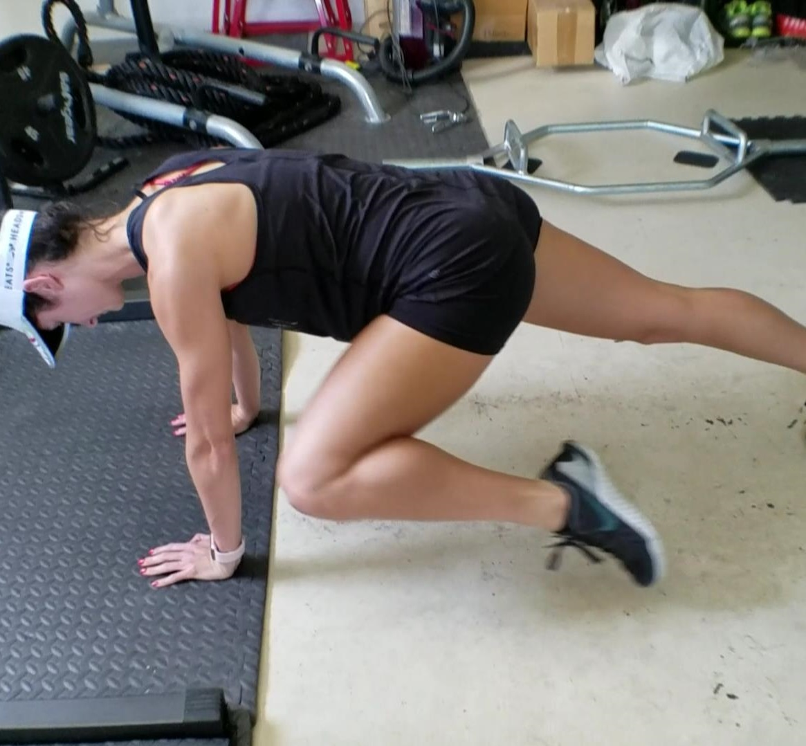 Core/Hip Igniter – Spiderman Pendulum Planks