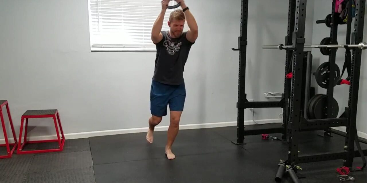 """<span class=""""entry-title-primary"""">Single Leg Stance with Upper Body Figure 8 – Dynamic Balance and Shoulder Endurance</span> <span class=""""entry-subtitle"""">Move It Monday</span>"""
